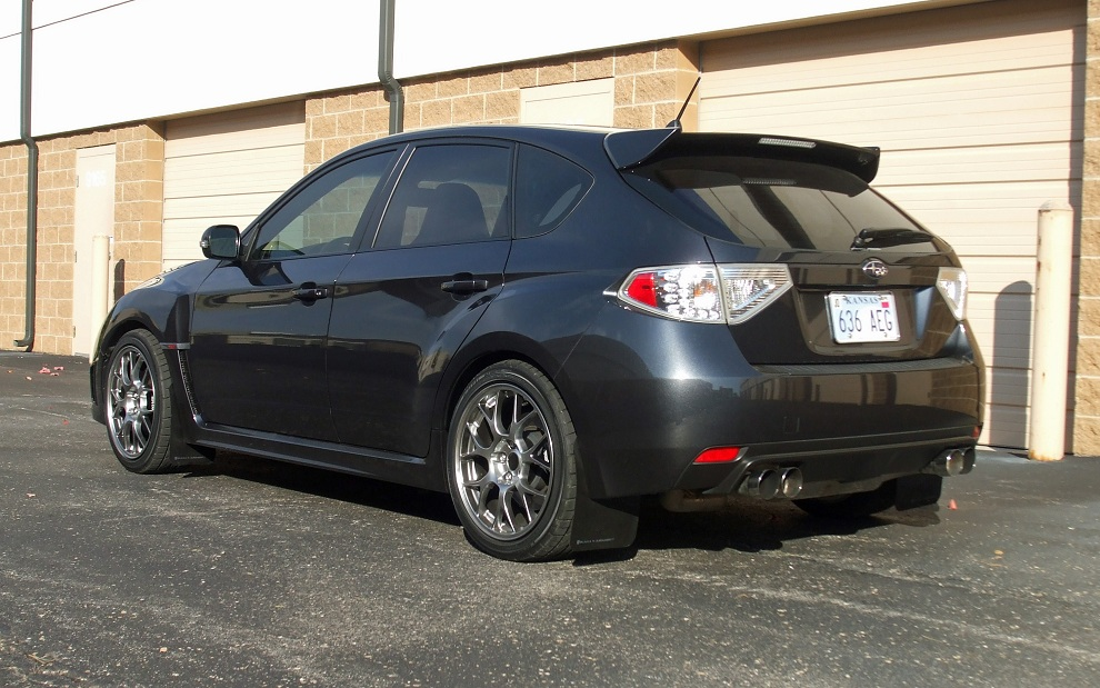 GR Hatch: Carmudgeon's 2008 DGM STi - Ohlins are on - Page ...