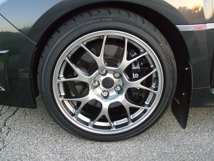 Re: KC_Scooter's 2008 DGM STi - EVO MR wheels mounted